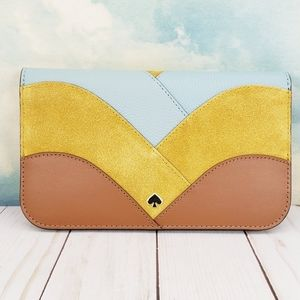 Kate Spade Nadine Patchwork Clutch Wallet